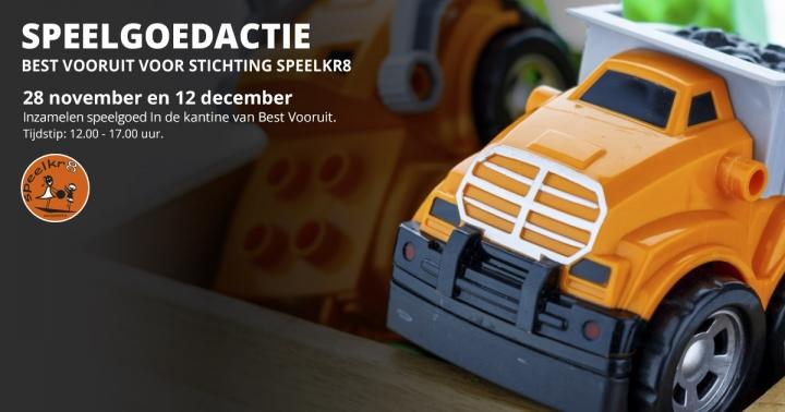 Speelgoedactie Stichting Speelkr8