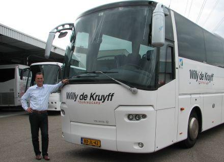 Businessclub Best Vooruit lid Willy de Kruyff Touringcars